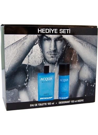 Dunlop Aqua Erkek Edt 100 Ml+Deodorant Marine 150 Ml Renksiz